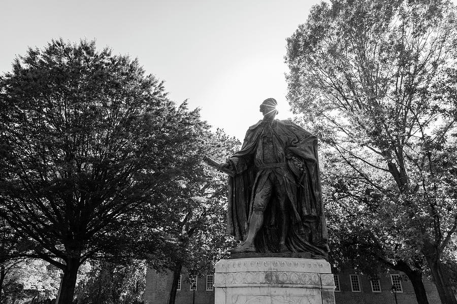 Lord Botetourt Statue At William And Mary Photograph