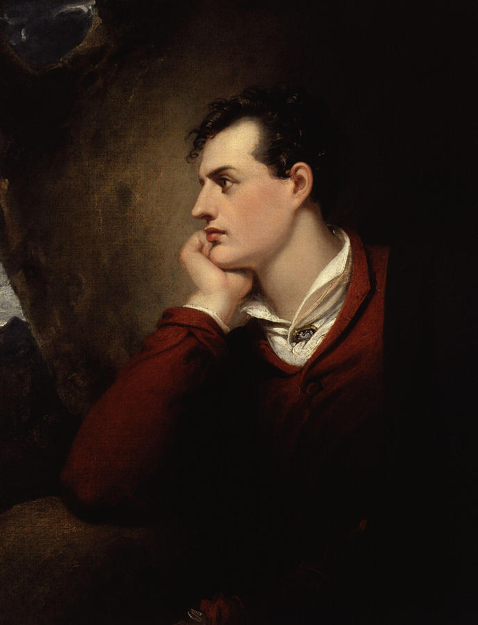 Lord Byron - 6th Baron Byron - By Richard Westall by War Is Hell Store