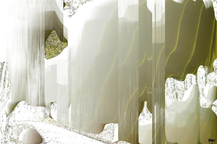 Digital Digital Art - Loree du bois by The KMoon