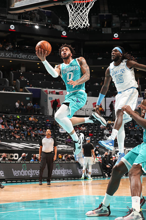 Los Angeles Lakers v Charlotte Hornets Photograph by Kent Smith