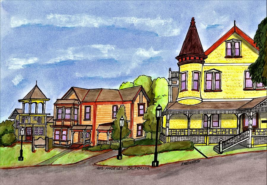 Los Angeles Victorians Drawing
