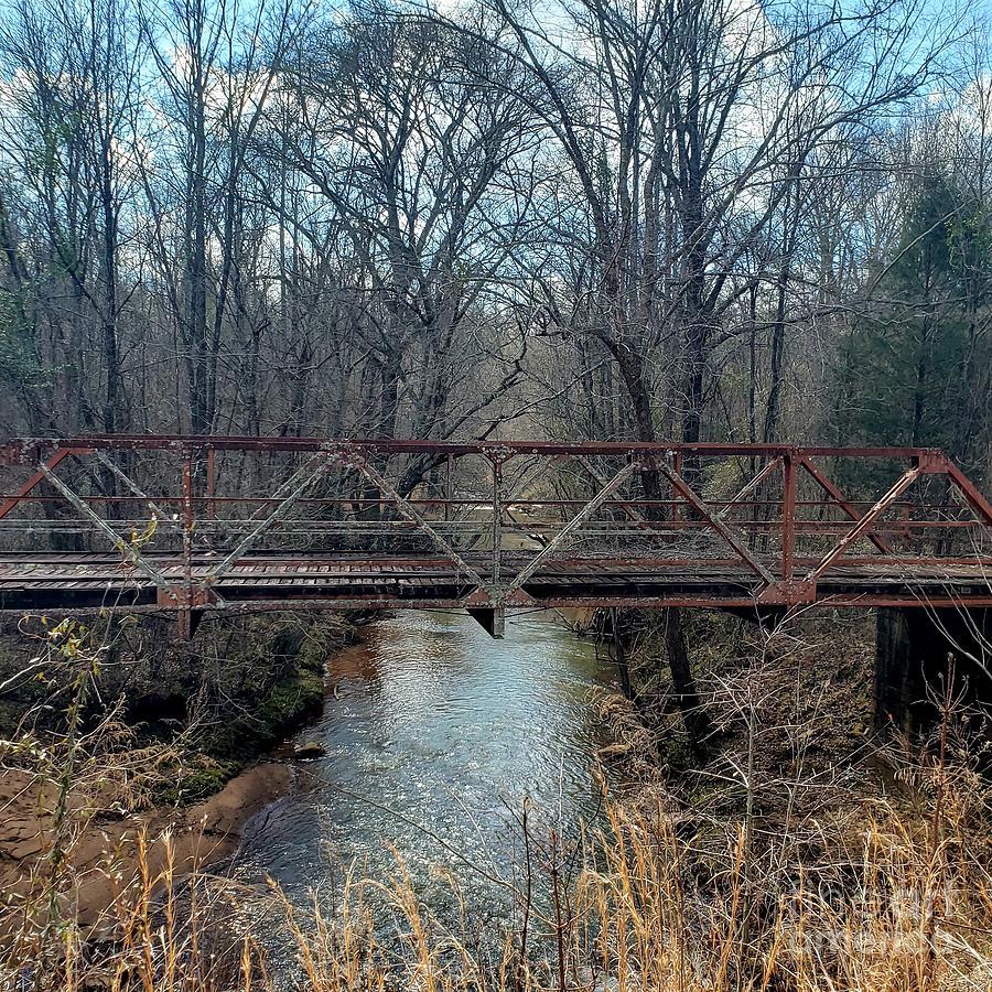 Lost Bridge Over Water Photograph