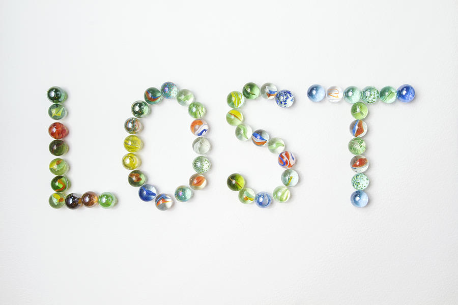 Lost Marbles Photograph by Catherine MacBride