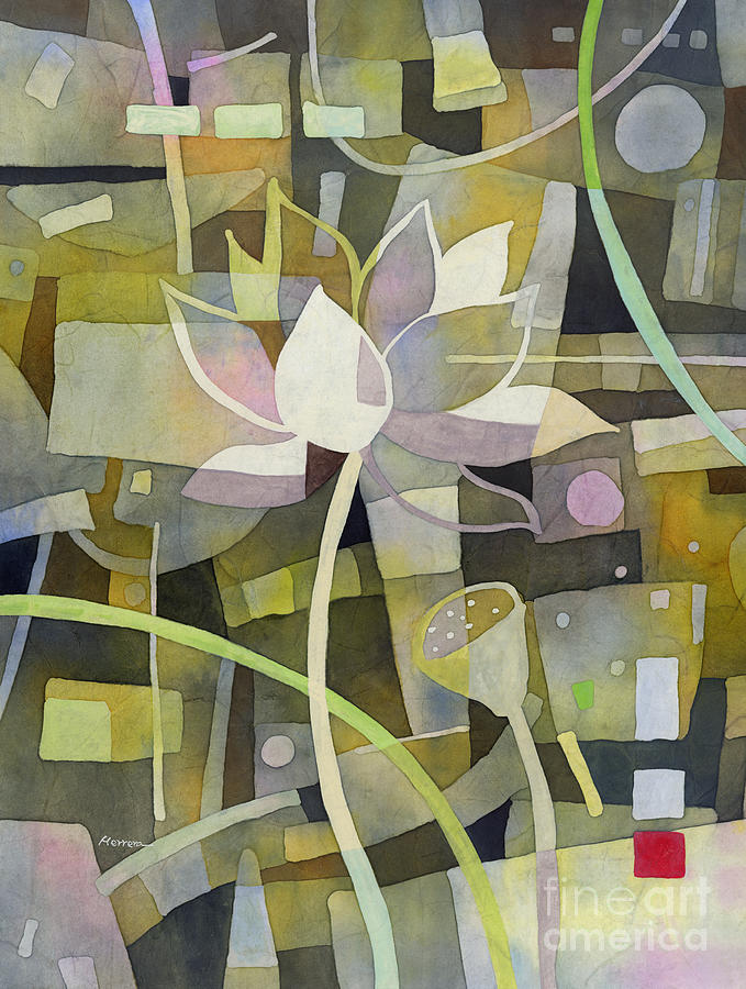 Lotus Dream 1 Painting