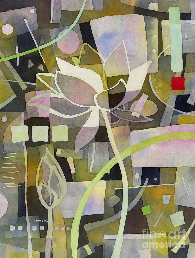 Lotus Dream 2 Painting