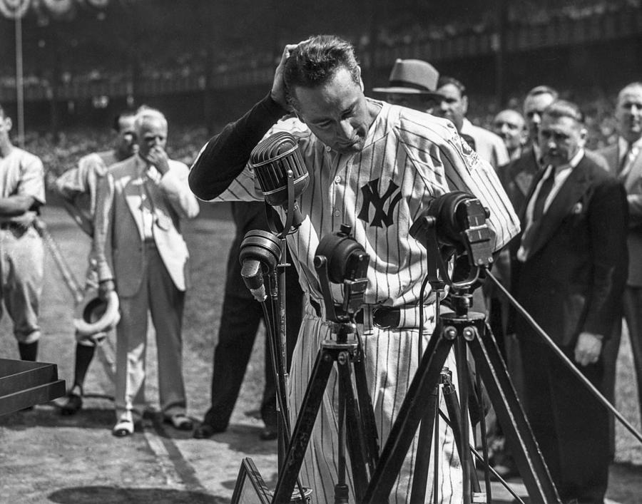 Lou Gehrig Photograph by The Stanley Weston Archive
