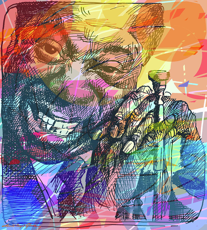 Louis Armstrong In Colors Painting