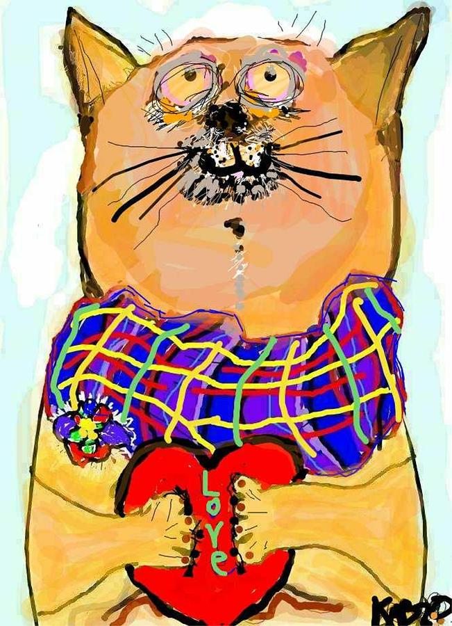Love Cat by Kathy Barney
