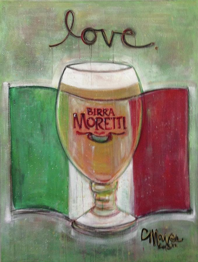 Love for Moretti by Laurie Maves ART