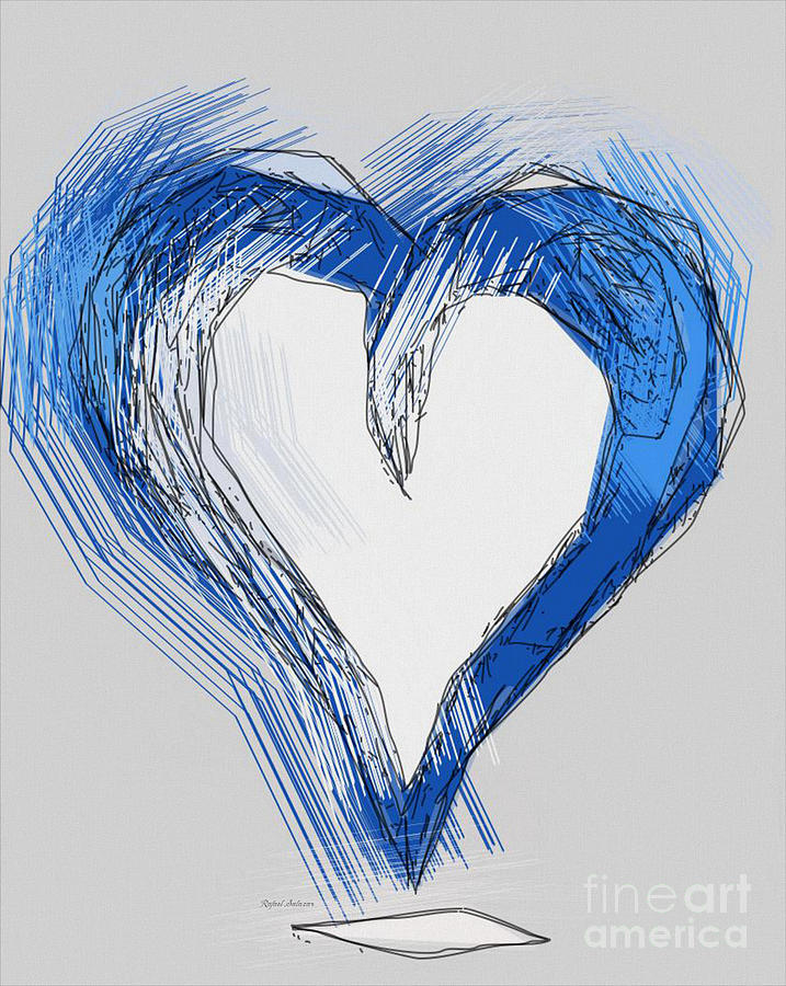 Love Is Blue Drawing