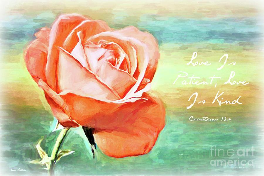 Love Is Patient Love Is Kind Digital Art