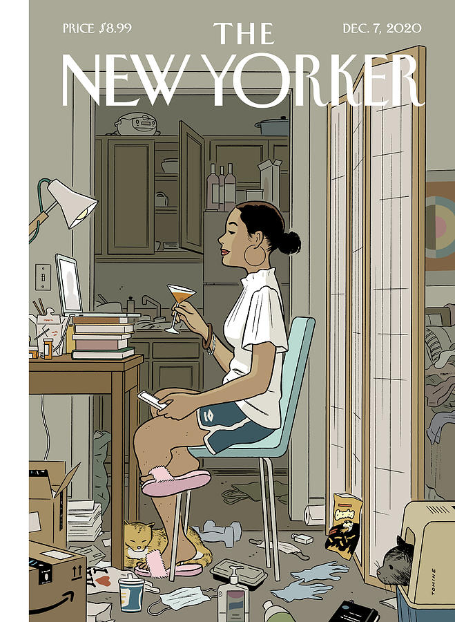 Love Life Digital Art by Adrian Tomine