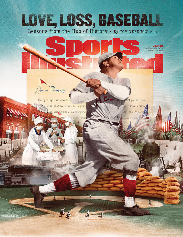 Love, Loss, Baseball Sports Illustrated Cover Photograph by Sports Illustrated