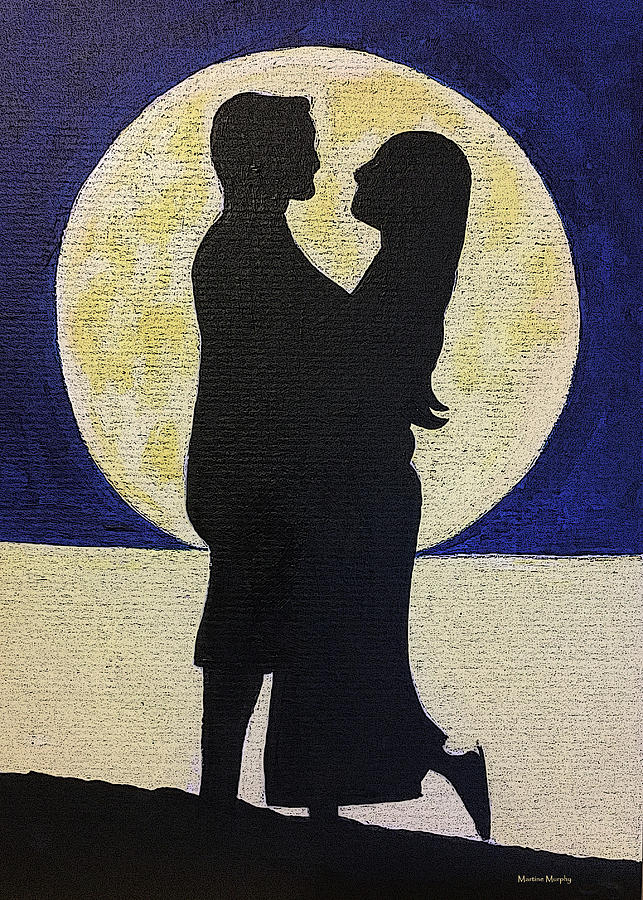 Love Moon 2 Digital Art