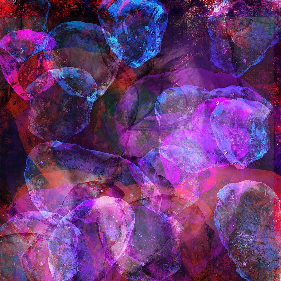 Love On The Rocks Mixed Media