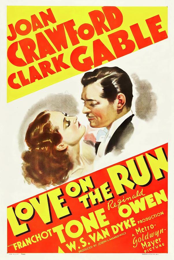 love On The Run, 1936 Mixed Media