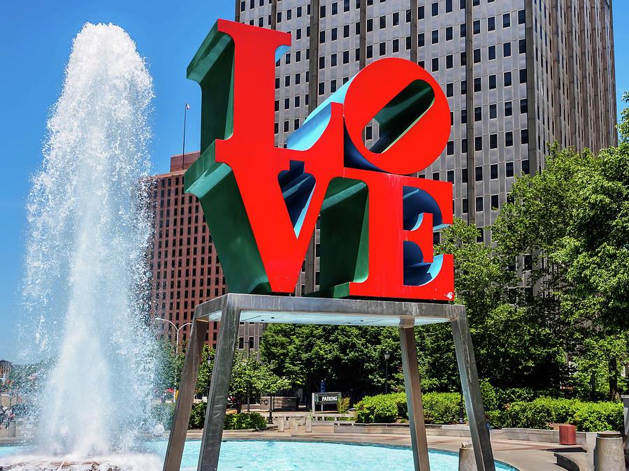 Love Park Philadelphia by Louis Dallara