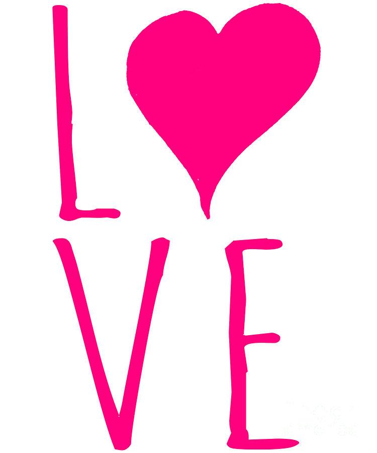 Valentines Day Digital Art - Love Valentines Day Heart by Flippin Sweet Gear