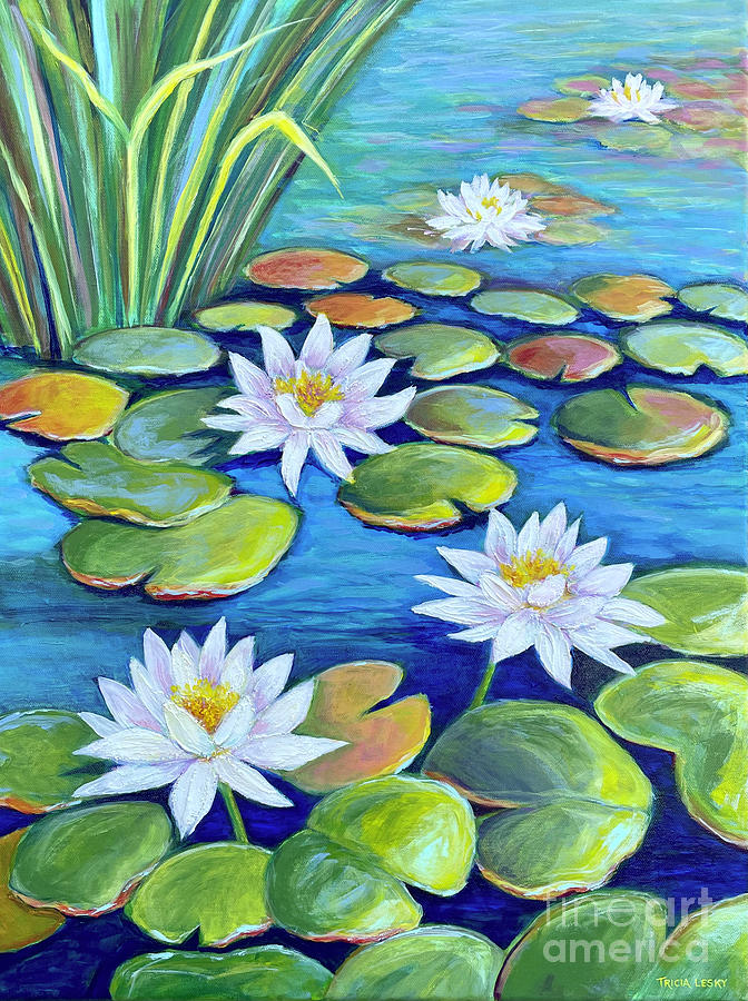 Lovely Lilies Painting
