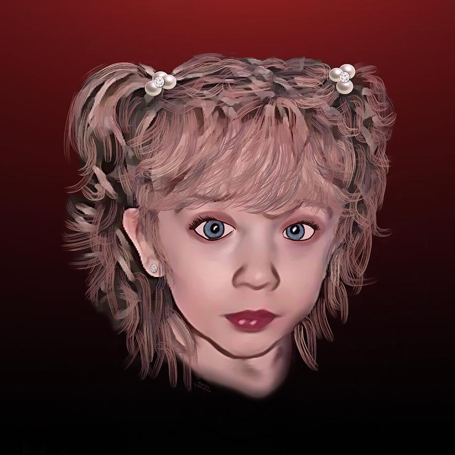 Lovely Little Harper Digital Art
