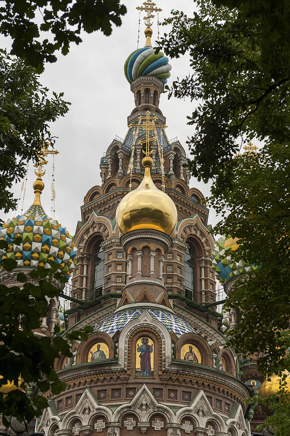 Low angle view of the Church of the Saviour Photograph by Fotosearch