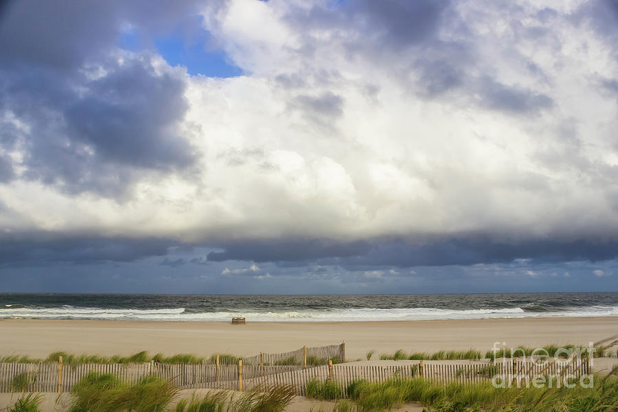 Low Clouds Over Long Beach Island by Colleen Kammerer
