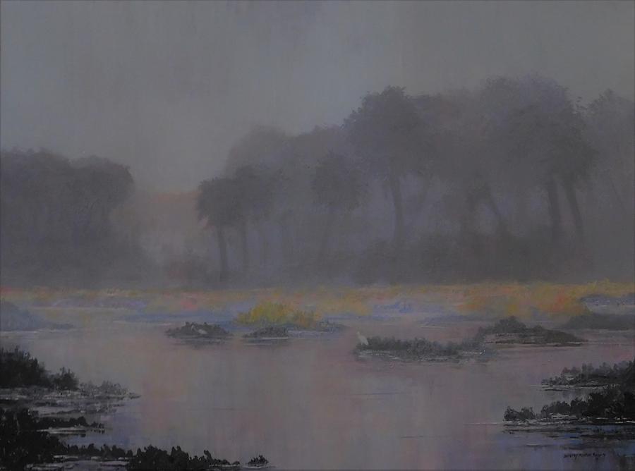 Low Tide  Mist by Dorothy Allston Rogers