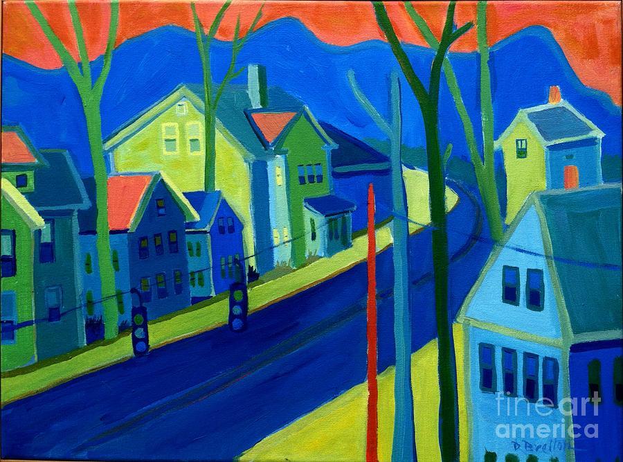Cityscape Painting - Lowell Deluge by Debra Bretton Robinson