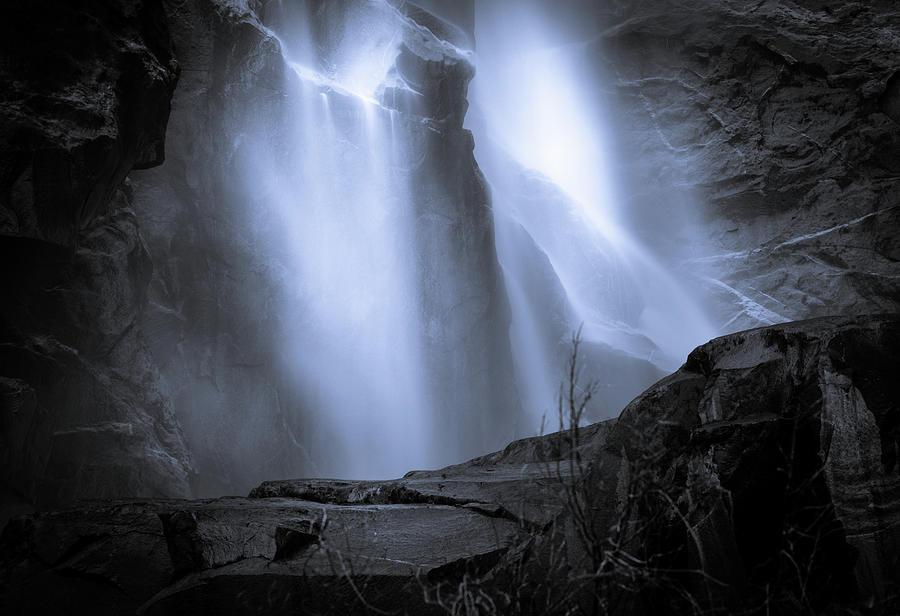 Lower Bridal Veil  Falls Photograph by Paul Malen