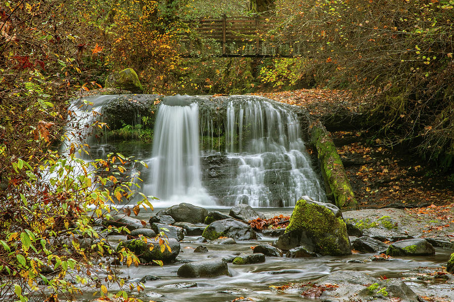 Lower Falls at McDowell Creek Park by Matthew Irvin