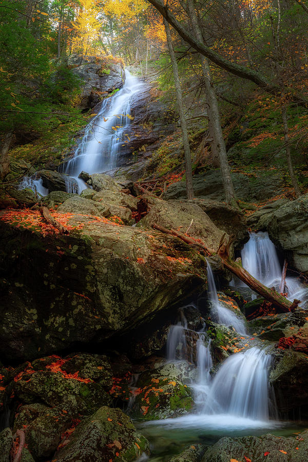 Lower Falls of Race Brook by Bill Wakeley
