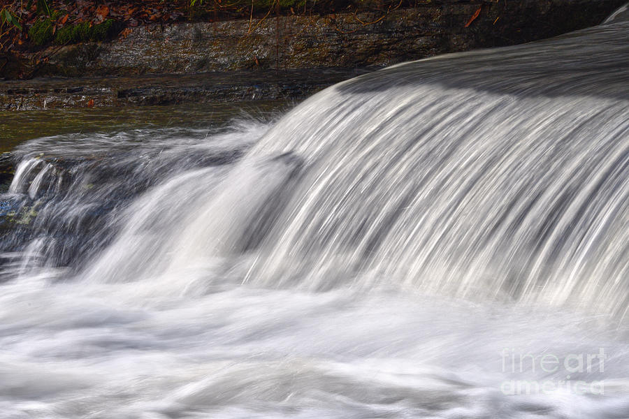 Lower Piney Falls 5 by Phil Perkins