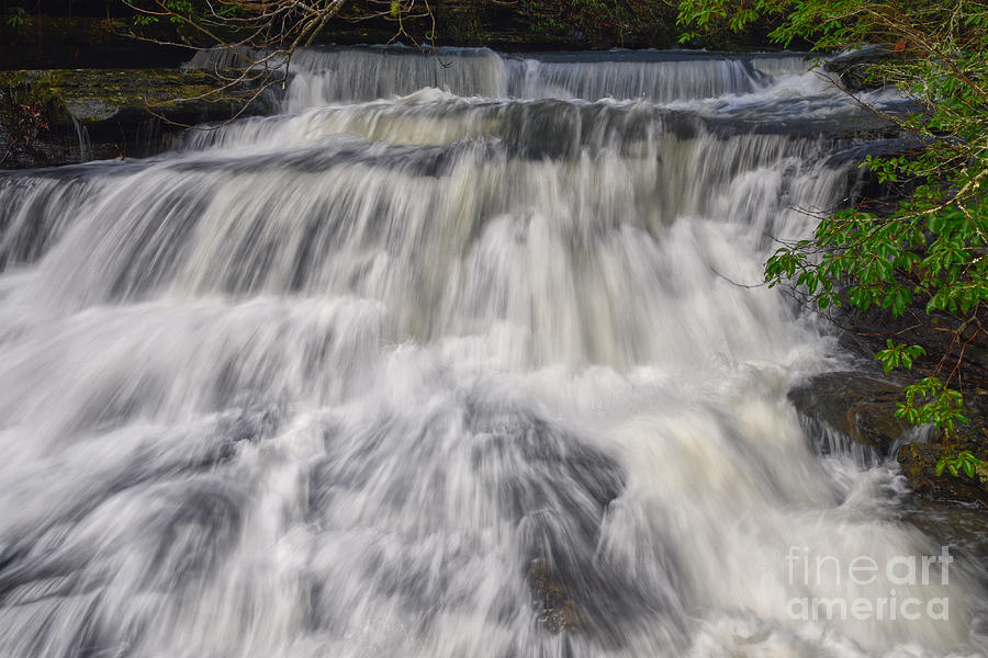 Lower Piney Falls 6 by Phil Perkins