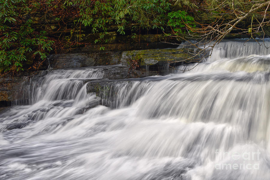 Lower Piney Falls 7 by Phil Perkins