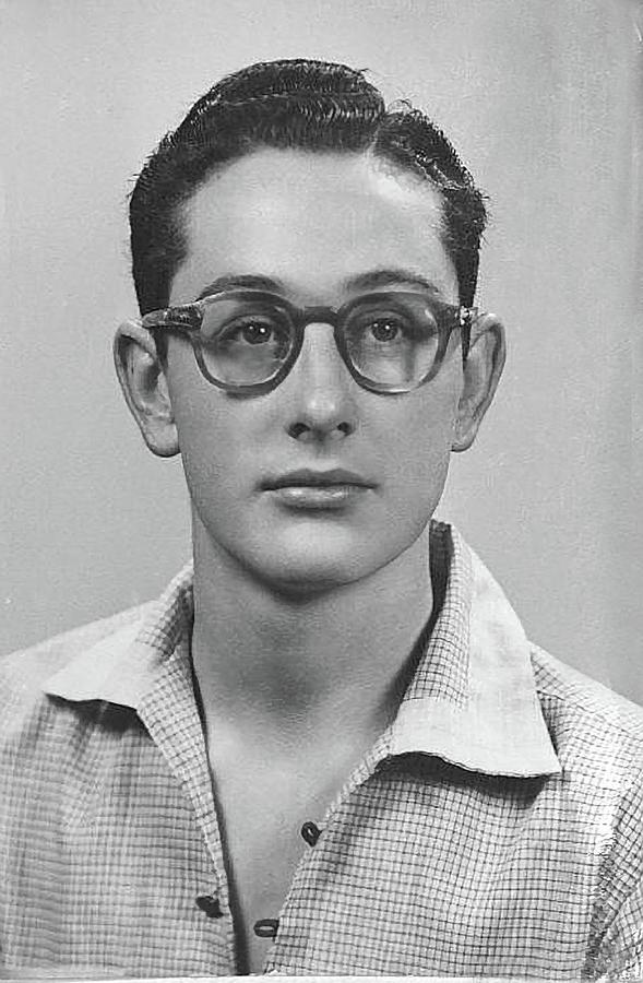 Buddy Holly Photograph - Lubbock High School by John Bates