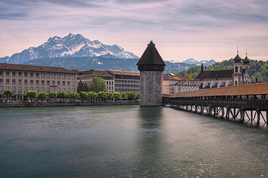 Lucerne Switzerland by Robert Fawcett