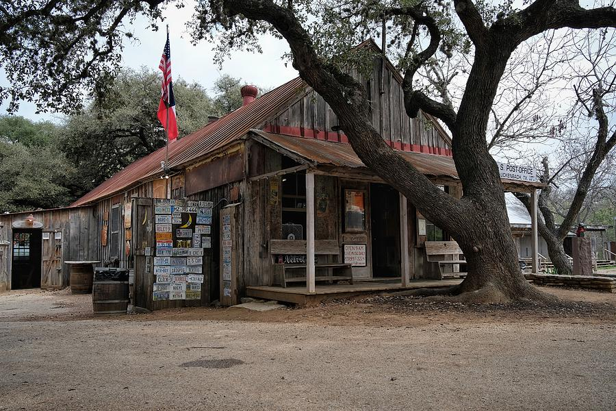 Luckenbach Post Office Photograph