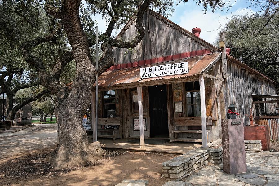 Luckenbach, Texas Building Photograph