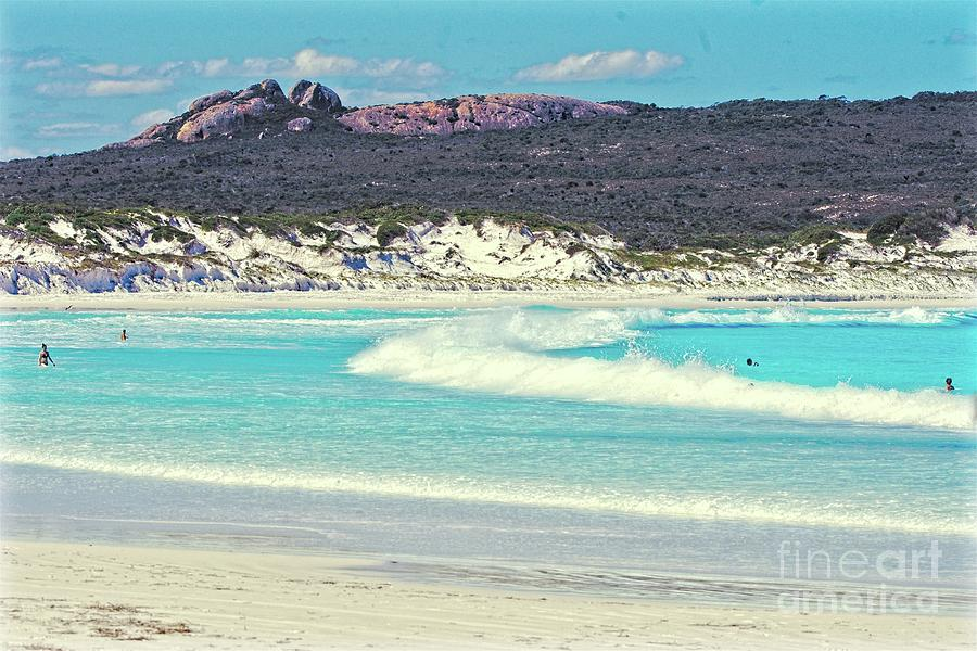 Lucky Photograph - Lucky Bay by Graham Buffinton
