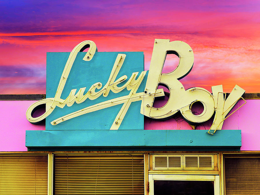 Lucky Boy Sunset by Dominic Piperata