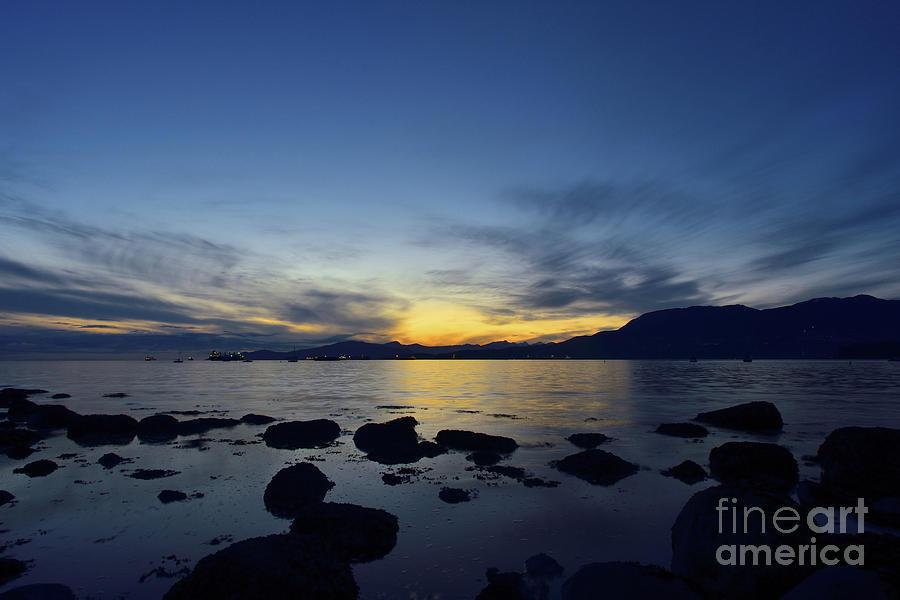 Lucky Duck Sunset Photograph