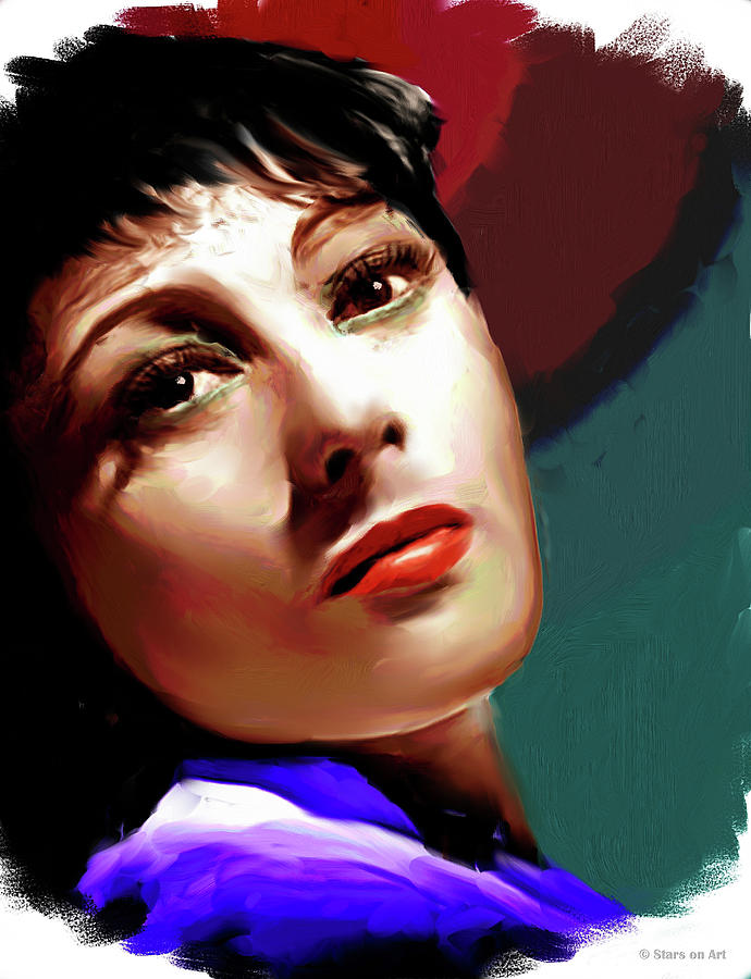 Luise Rainer Painting