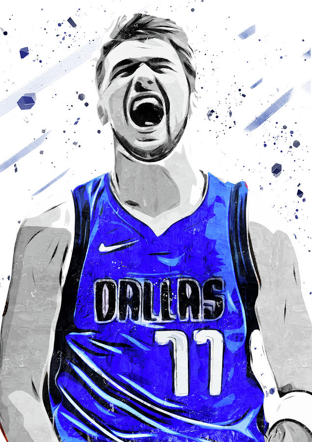 Luka Doncic 2 Digital Art By Smh Yrdbk