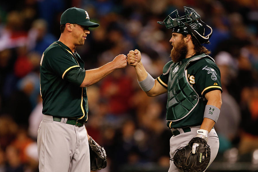 Luke Gregerson and Derek Norris Photograph by Otto Greule Jr