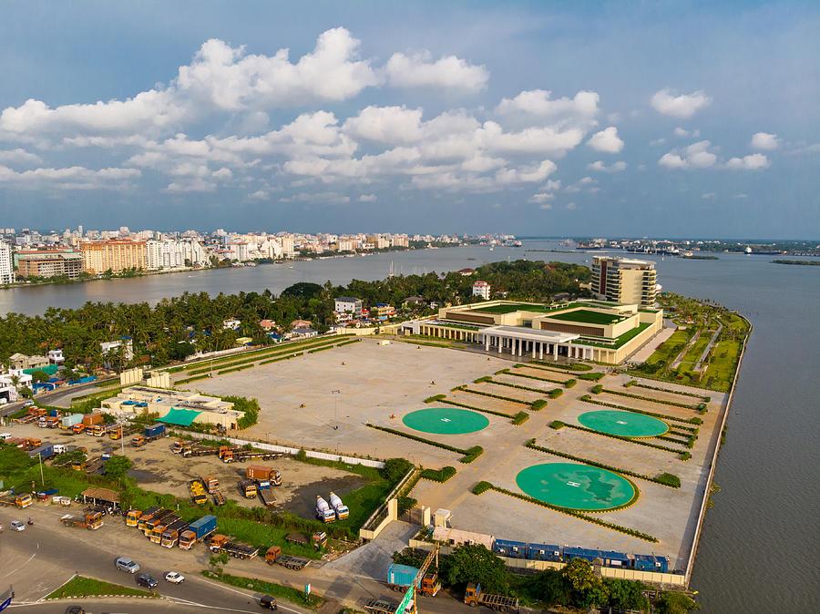 Lulu Convention center -Bolgatty Photograph by Gulfu Photography