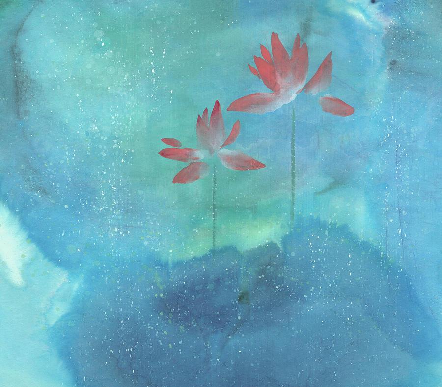 Upright Painting - Luminous by Mui-Joo Wee