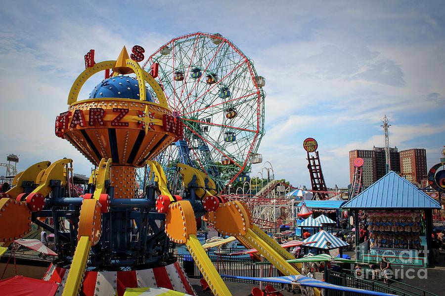Luna Park of Coney Island - Study II by Doc Braham