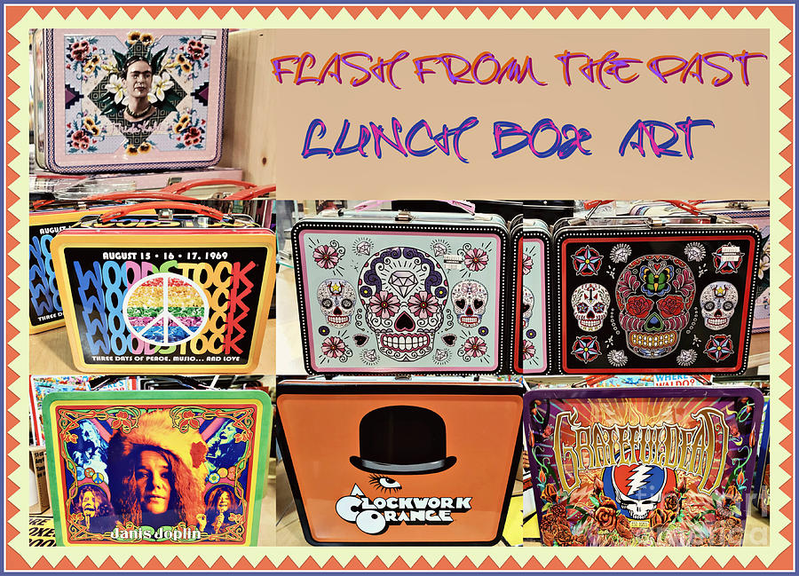 Lunch Box Art Of Yesteryear Photograph