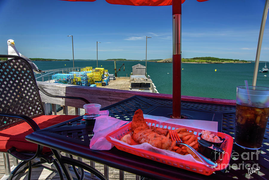 Lunch In Lubec Photograph