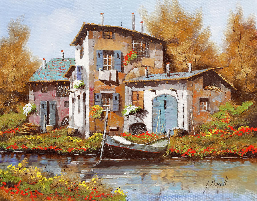 Lungo Il Fiume Painting